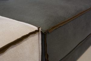 Πολυμορφικό γωνιακό σαλόνι με σκαμπό