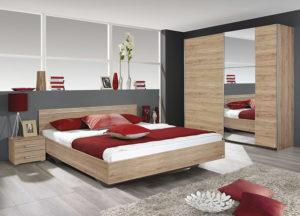 Κρεβατοκάμαρα με συρόμενη ντουλάπα