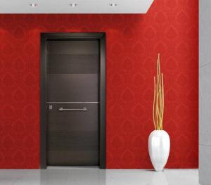 Πόρτα Θωρακισμένη με Επένδυση Καπλαμά