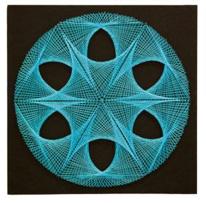 Πίνακας με κλωστές – Γεωμετρικά Fractals