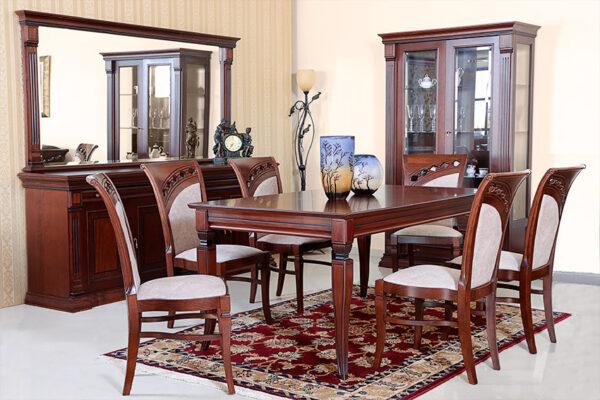 Комплект столовой классического стиля с Инкрустацией