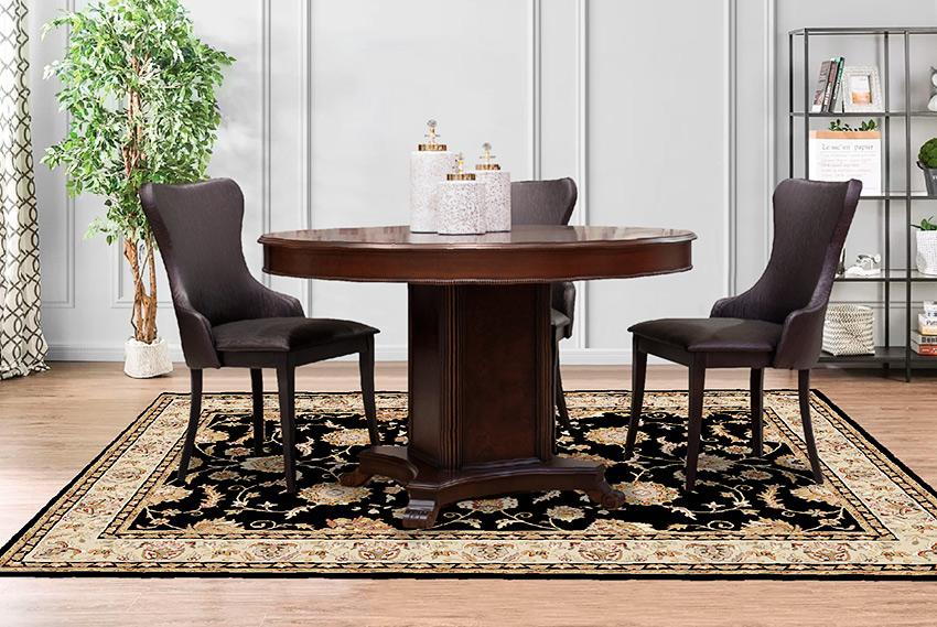 Круглый стол классического стиля