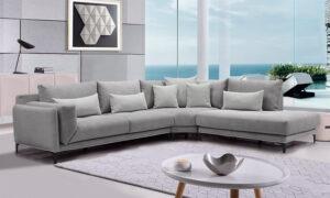 Καναπές γωνία με γαλλικό φυτίλι