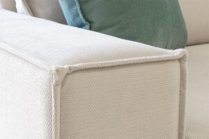 Γωνιακός καναπές με αδιάβροχο ύφασμα