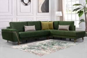 Μοντέρνος καναπές γωνία