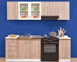 Κουζίνα σε διάφορους χρωματισμούς