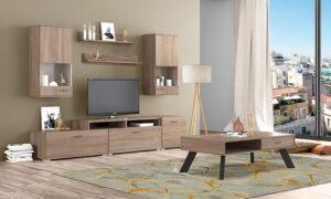 Σύνθεση τηλεόρασης σε φυσικό χρώμα