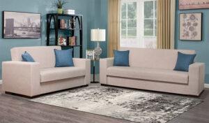 Σαλόνι 2θέσιος και 3θέσιος καναπές