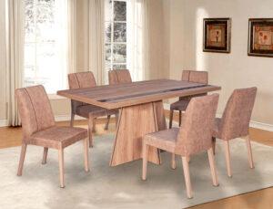 Σετ τραπεζαρίας με 6 καρέκλες