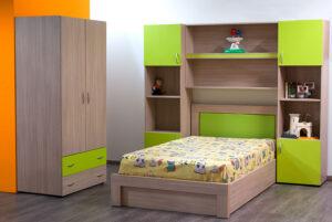 Σετ παιδικού δωματίου σε διάφορα χρώματα