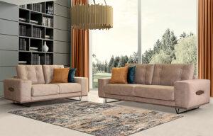 Σετ 2θέσιος – 3θέσιος καναπές