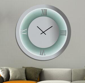 Ρολόι Καθρέπτης Χειροποίητος με φωτισμό Led